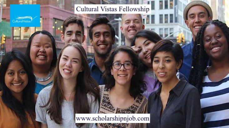 Fully Funded Cultural Vistas Fellowship - United States