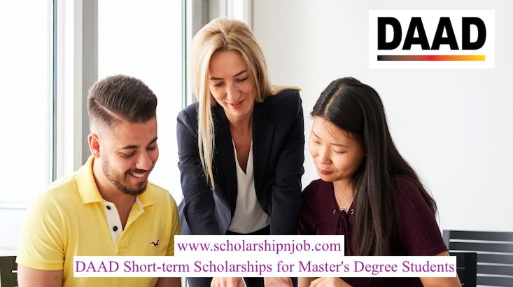 Fully Funded DAAD-Short-term Scholarships for Master's Degree Students - Germany