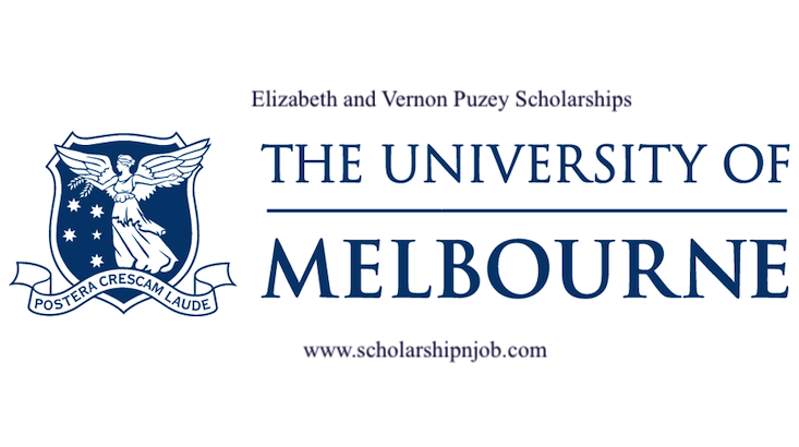 Fully Funded Elizabeth and Vernon Puzey Scholarships – Australia