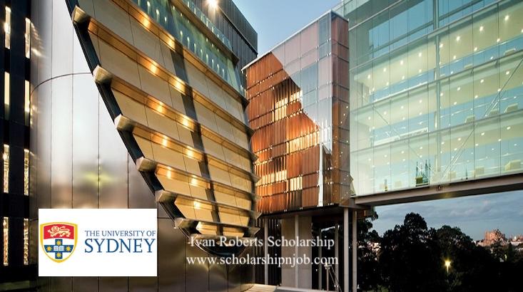 Fully Funded Ivan Roberts Law Scholarships - University of Sydney, Australia