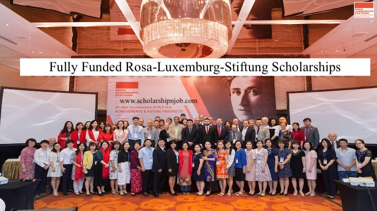 Fully Funded Rosa-Luxemburg-Stiftung Scholarships - Germany