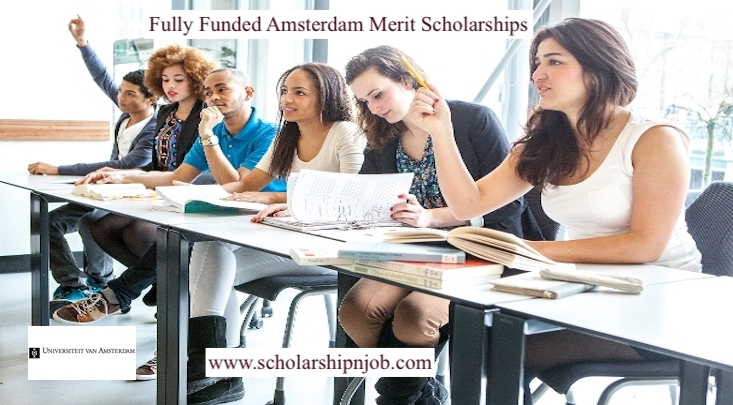 Fully/Partially Funded Funded Amsterdam Merit Scholarships