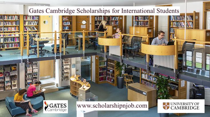 Fully Funded Gates Cambridge Scholarships for International Students - United Kingdom