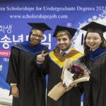 Fully Funded Global Korea Scholarships for Undergraduate Degrees 2021
