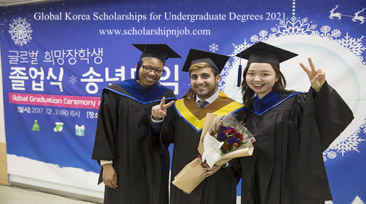 Fully Funded Global Korea Scholarships for Undergraduate Degrees 2021