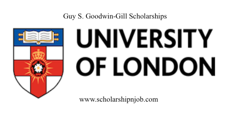 Fee-waiver Guy S. Goodwin-Gill Scholarships - University of London, United Kingdom