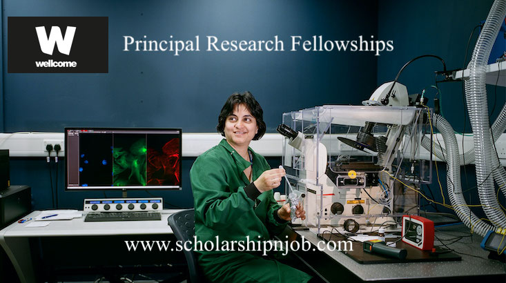 Fully Funded Principal Research Fellowships - United Kingdom