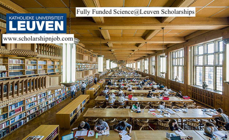Fully Funded Science@Leuven Scholarships - KU Leuven, Belgium