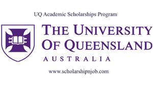 Partially Funded UQ Academic Scholarships Program - Australia