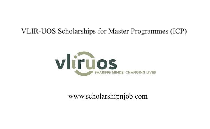 Fully Funded VLIR-UOS Scholarships for Master Programmes (ICP) - Belgium