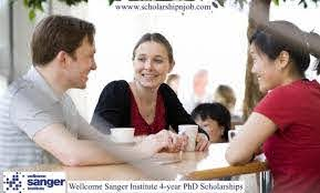 Fully Funded Wellcome Sanger Institute 4-year PhD Scholarships - University of Cambridge, United Kingdom
